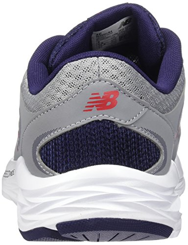 New Balance Herren 420 Hallenschuhe Steel / Dark Denim / Alpha Red