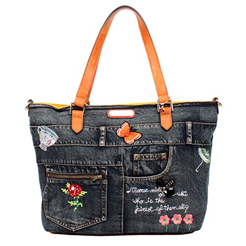 nicole-lee-riley-denim-emboidery-shopper-bag