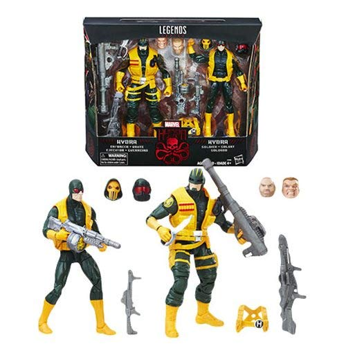 Marvel Legends Series 6 inch Action Figure - Hydra Soldiers 2 Pack Hydra Serie