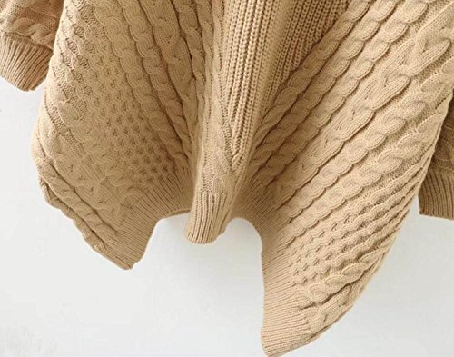 Knitting Items In Dubai : Zgjq sweater knit tunic thick plus