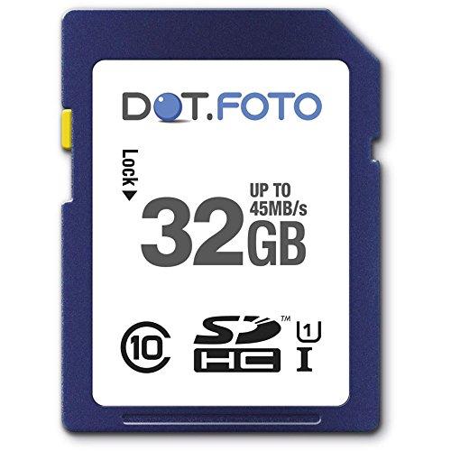 dotfoto-32-go-carte-mmoire-sdhc-classe-10-uhs-1-45mo-sec-pour-canon-powershot-d10-d20-d30-g12-g15-g1