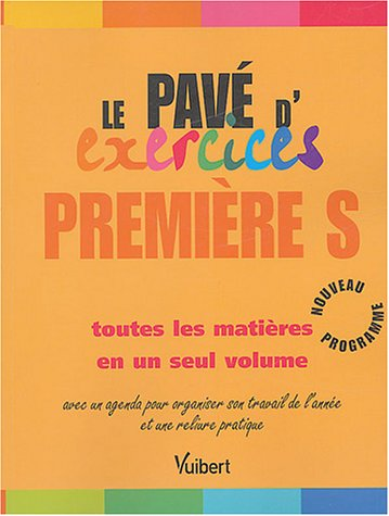 Le pavé d'exercices 1e S