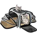 OMORC Hundetasche Faltbare Transporttasche Hunde für Reise Transportbox Hunde und Katzen mit Schultergurt und Tragegriffe Hundetragetasche mit...