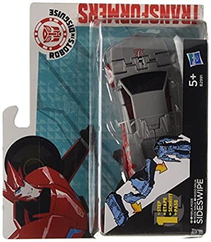Transformers : Robots in Disguise – Mode Ninja Sideswipe – Figurine Transformable 1 Etape