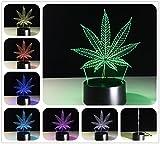 DowBier 3D Illusion Multi Couleurs USB Veilleuse Nuit Lumière Lampe de Bureau...