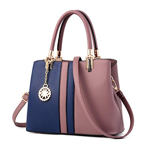 asche Handtasche für Damen Umhängetasche für Damen Mode Handtasche Große Handtasche Kunstleder Einkaufstasche Design Elegant für Damen Damen Casual Handtasche Schulter-Handtasche ()