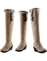 Moda negro zapatos/Ayuda alta zapatos/Zapatos ocasionales del viento de UK-A Longitud del pie=23.8CM(9.4Inch) usBJM