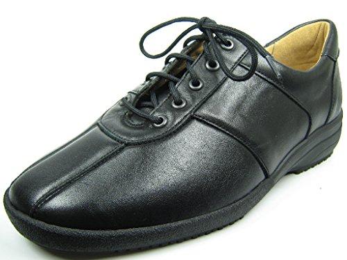 Ganter  207991-0100, Chaussures de ville à lacets pour femme Schwarz