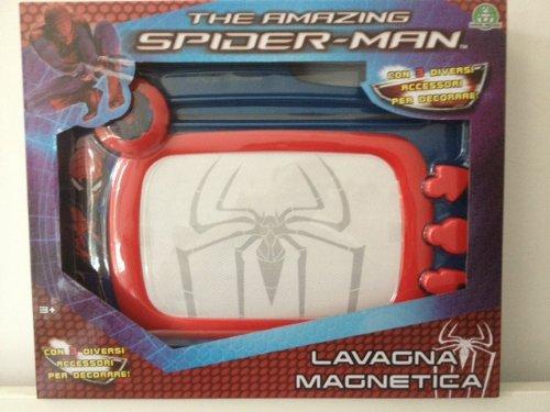ARDOISE MAGNETIQUE THE AMAZING SPIDER-MAN AVEC 3 ACCESSOIRES