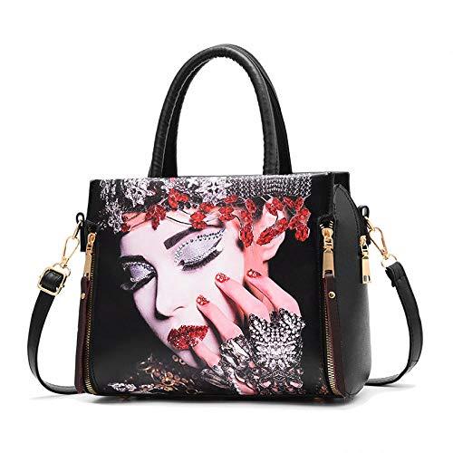 Crossbody Umhängetasche Handtaschen Flut Tasche weibliche Mode süße Dame geschleudert Schulter, Gesicht
