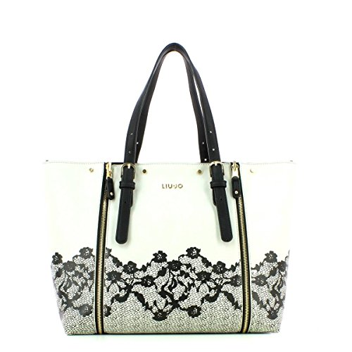 LIU JO ARMONIA SHOPPING BAG A66080E0017-44500 Grey light