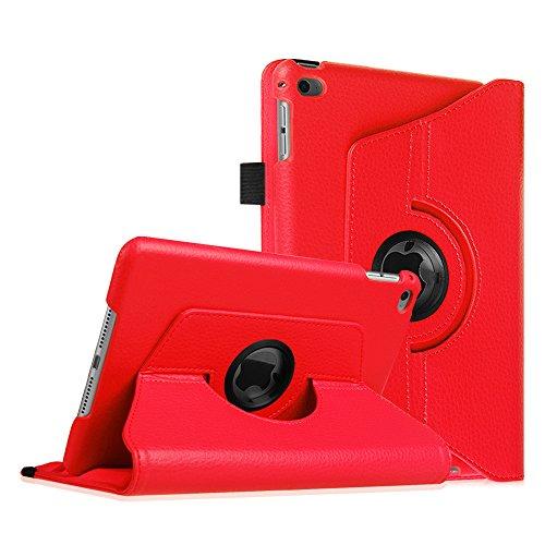 Fintie iPad mini 4 Rotating Case, Red