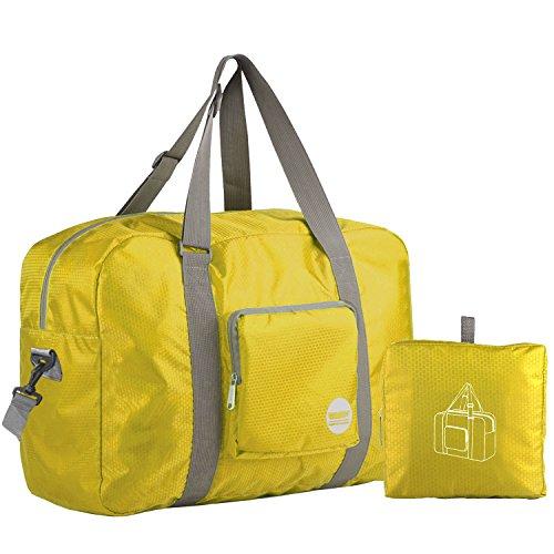 WANDF Foldable Travel Duffel Bag Super Lightweight for Luggage e4bf505f2a9dc