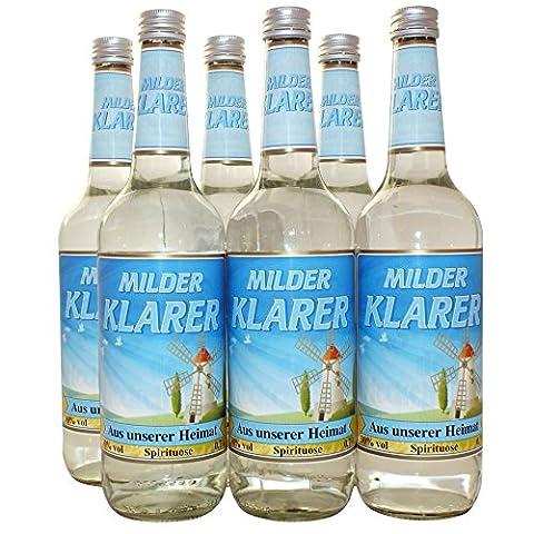 Aus unserer Heimat Spezialitäten Milder Klarer Spirituose 28% vol. (6 x 0.7 l)