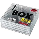 Hama CD-Leerhülle Standard, 5er-Pack, transparent