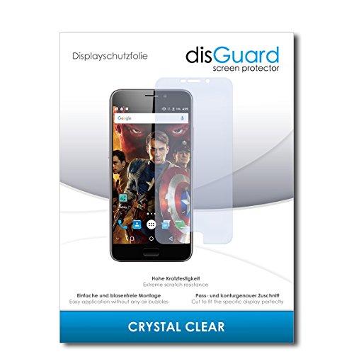 disGuard® Displayschutzfolie [Crystal Clear] kompatibel mit UMIDIGI Plus [2 Stück] Kristallklar, Transparent, Unsichtbar, Extrem Kratzfest, Anti-Fingerabdruck - Panzerglas Folie, Schutzfolie