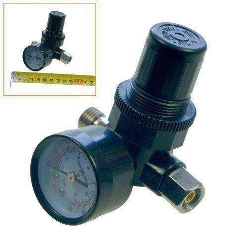 """Merry Tools HK Regulador de presión del aire y medidor interior 1/4"""" para herramientas de aire neumáticas 214109"""