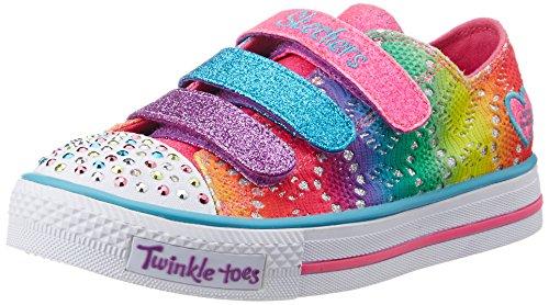 Skechers Mädchen Shuffles Rainbow Madness Sneaker Mehrfarbig - Multicolore (Multicolore)