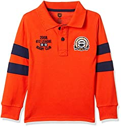 612 League Boys T-Shirt (ILW17I16005F_Orange_4-5 Years)