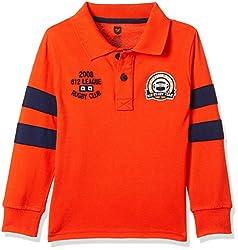 612 League Boys T-Shirt (ILW17I16005F_Orange_5-6 Years)