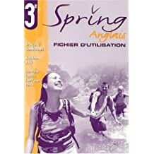 Spring : Anglais 3ème