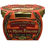 Biscuiterie Mère Poulard Rillettes de Fruits de Mer au Curry 90 g - Lot de 2