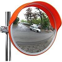 sourcingmap/® 14x10.5cm Auto klebend Konvex R/ücksicht Toten Winkel Seiten Spiegel silber de