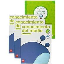 Conocimiento del medio. 2 Primaria. Conecta con Pupi. Madrid. Trimestres - 9788467545883