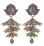 Rejewel Gold Plated American Diamond Ear...