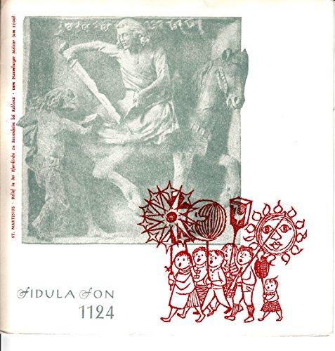 Kölner Kinderchor / Sankt Martins- und Laternenlieder / Fidulafon 1124 / Klapp-Bildhülle / Deutsche Pressung / 7 Zoll Vinyl Single Schallplatte /