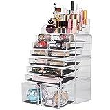 Readaeer Organizador de Maquillaje con 12 Niveles Ajustables, Caja de Almacenamiento...
