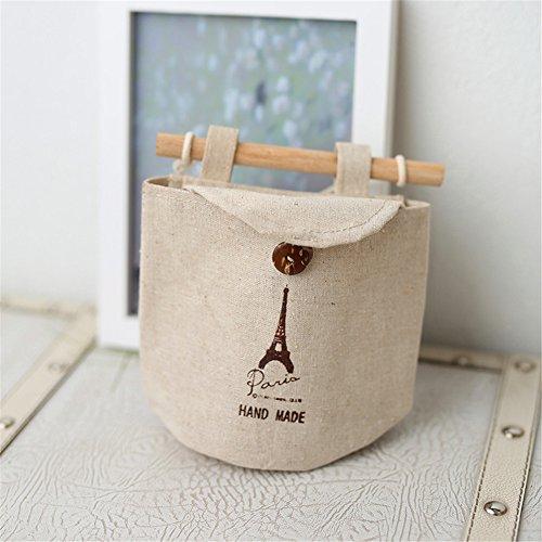 Wohnheim Stoffen, hang bag Artefakt Tür und Wand Taschen Schlafzimmer Wandhalterung wasserdicht Eine Tasche für die Serien B