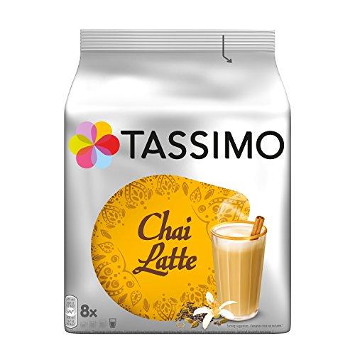 Tassimo Chai Latte, 5er Pack Teespezialität T Discs (5 x 8 Getränke)