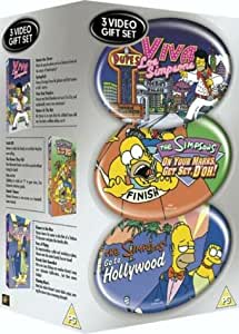 The Simpsons: Viva Los Simpsons/On Yer Marks/Go To Hollywood [VHS]