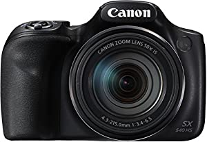 "camara de fotos: Canon PowerShot SX540 HS - Cámara Digital de 20.3 MP (Pantalla de 3"", Zoom óptic..."