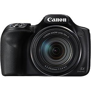 Canon-PowerShot-SX540-HS-Bridge-Digitalkamera-203-Megapixel-SchwarzAnthrazit