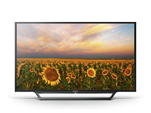 Sony Bravia KDL-32RD433 32 inch HD Ready TV with Freeview, HDD Rec and USB Playback (2016 Model) - Black