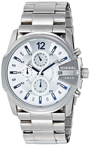 51RMFjyqmdL - Diesel DZ4181 Silver Mens watch