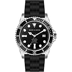 Marc & Sons Professional Automatic Diving Watch Diver Watch MSD 044/
