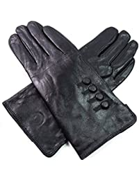 Ladies Womens Premium Quality Genuine Super Soft Leather Gloves Fully Lined Winter Everyday Warm