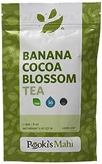 Pooki's Mahi Banana Cocoa Blossom Tea, 2 Ounce
