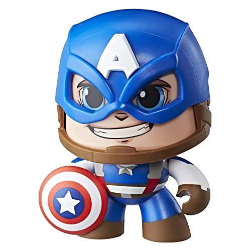 Hasbro Mighty Muggs E2163ES0 Marvel Captain America, Sammelfigur