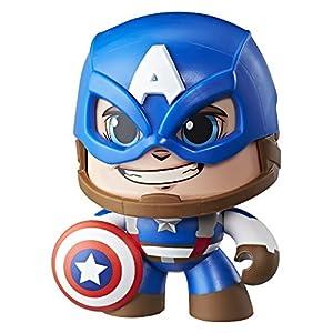 Mighty Muggs Figura Coleccionable de Marvel, Capitán América,, Estándar (Hasbro E2163EU4)