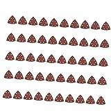 Sharplace 50 Stück 6-Loch Schleifblätter Schleifscheiben Schleifpapier Dreieck Schleifer Papierkissen 90mm - 240 Körnung