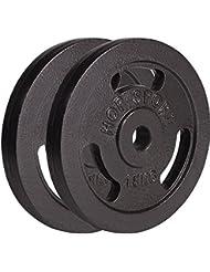 Poids Hop-Sport disques en fonte 30 kg (2 x 15 kg)