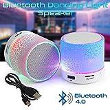Hanbaili Tragbare Lautsprecher LED leuchtende Musik Bluetooth Sprung Mini Soundbox freihändige für Smartphone Musik