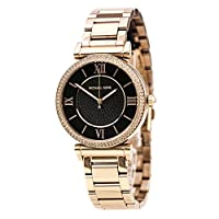Michael Kors Catlin Watch for Women - Analog Stainless Steel Band - MK3356