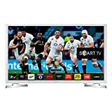 Samsung Series 4 UE32J4510 32-Inch Widescreen HD Ready LED Smart Television with Built-In Wi-Fi and Freeview HD - White