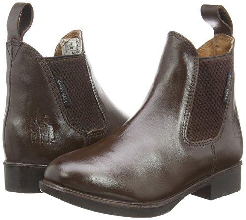 Harry Hall Buxton Boots d'équitation pour enfant Marron - Marron