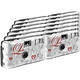 TopShot  - Fotocamera usa e getta, 27 foto, flash, confezione da 12
